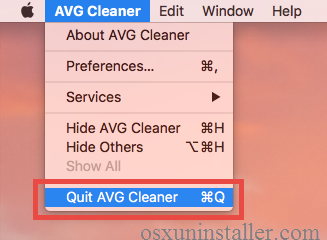 How to Uninstall AVG Cleaner for Mac - osxuninstaller (6)