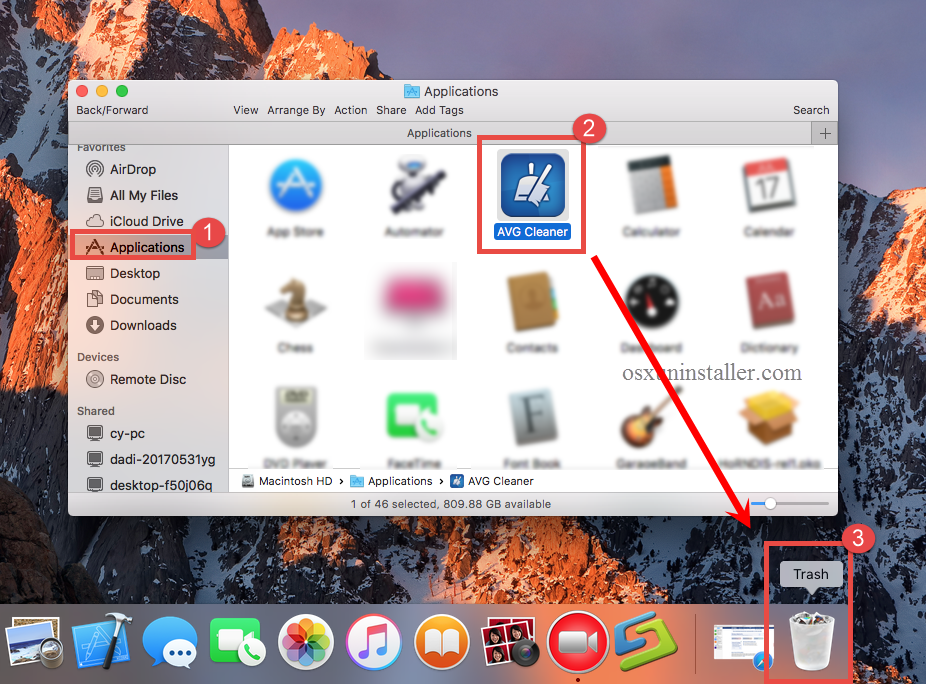 How to Uninstall AVG Cleaner for Mac - osxuninstaller (8)