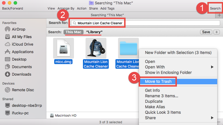 uninstall applications mac mountain lion
