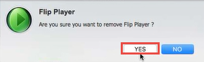 uninstall Flip Player for Mac step2.0