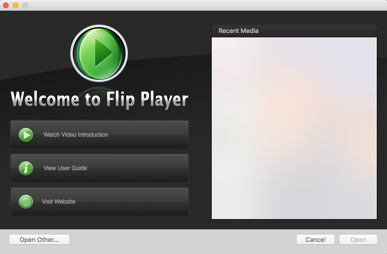 uninstall Flip Player for Mac