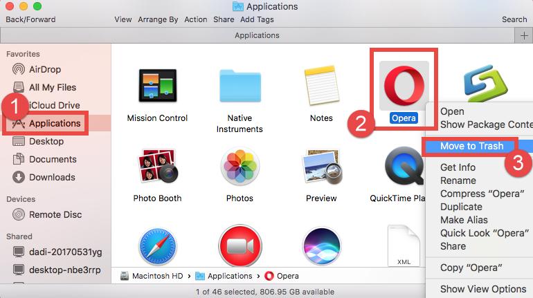 Easily & Fully Uninstall Opera for Mac