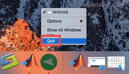 How to uninstall Airdroid on Mac - osxuninstaller (2)