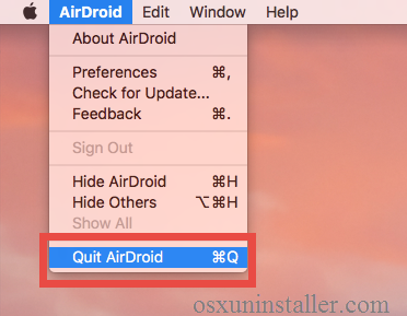 How to uninstall Airdroid on Mac - osxuninstaller (3)