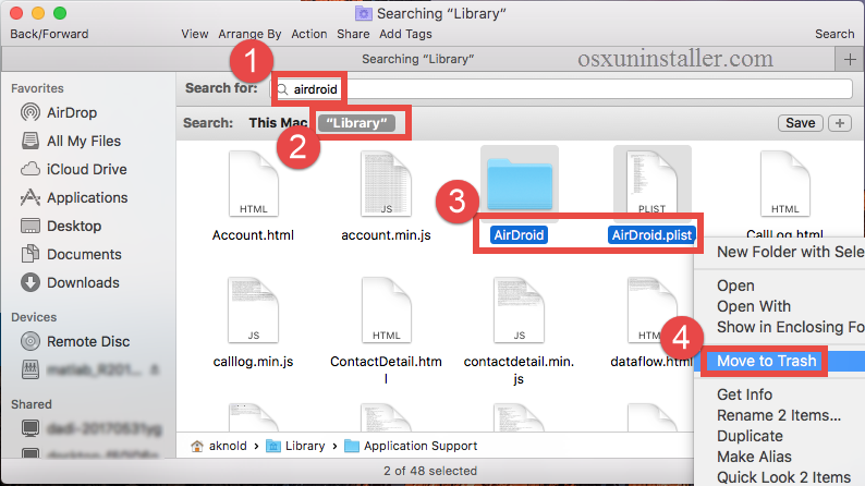 How to uninstall Airdroid on Mac - osxuninstaller (7)
