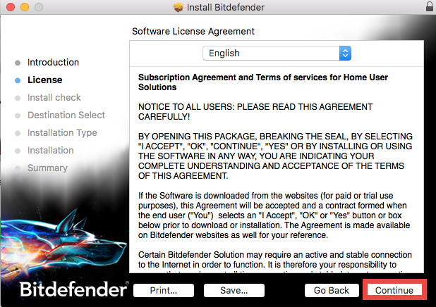Uninstall Bitdefender Antivirus for Mac (3)