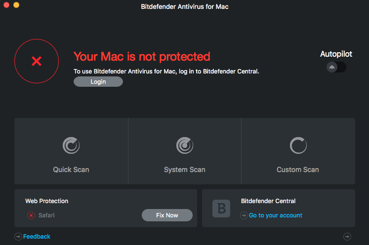 Uninstall Bitdefender for Mac