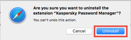 Delete Kaspersky Password Manager extension in Safari - osxuninstaller (3)