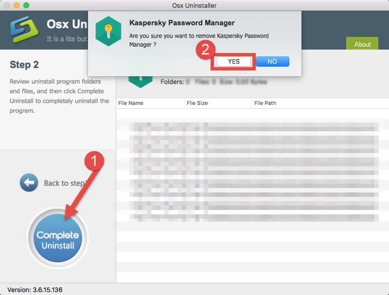 Easily Uninstall Kaspersky Password Manager with Osx Uninstaller (2)