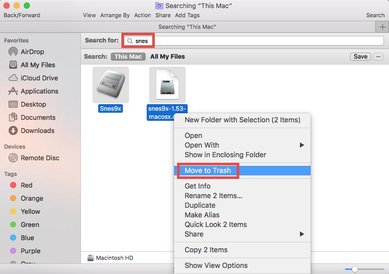 How to uninstall Snes9x on Mac - osxuninstaller (4)