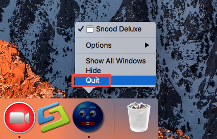 How to uninstall Snood Deluxe for Mac (2)