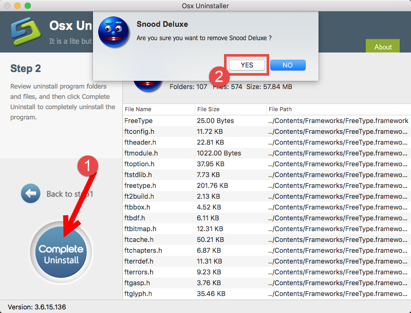 Remove Snood Deluxe on Mac - osxuninstaller (2)