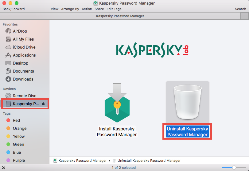 Run Kaspersky Password Manager Uninstaller - osxuninstaller (1)