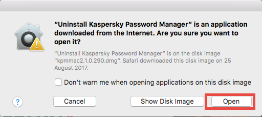 Run Kaspersky Password Manager Uninstaller - osxuninstaller (2)