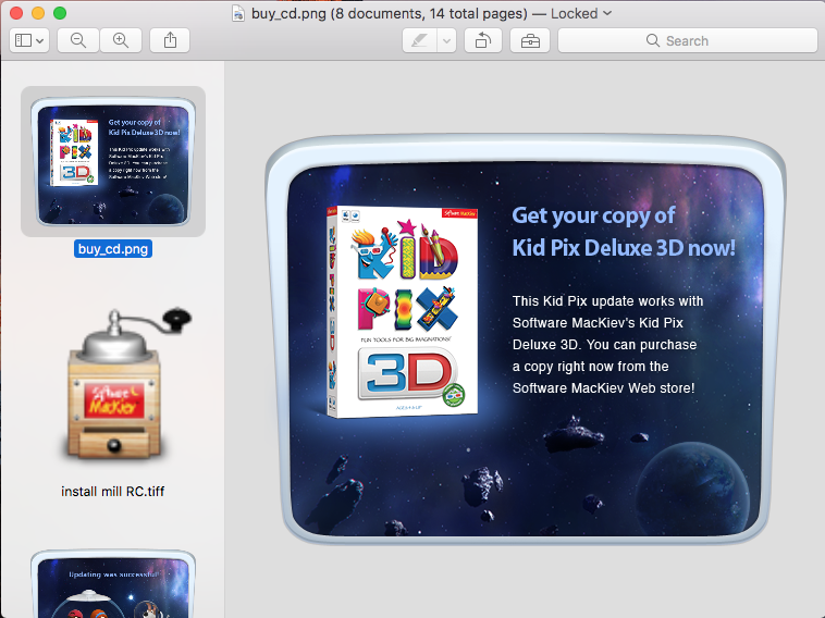 Remove Kid Pix Deluxe 3D