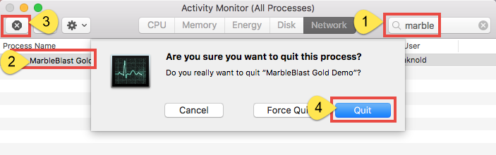 Correct Steps to Uninstall Marble Blast Gold for Mac