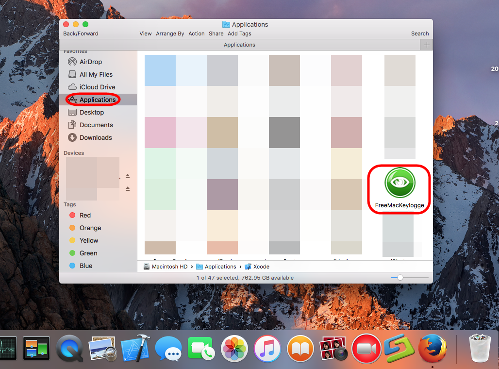 Remove FreeMacKeylogger Instruction on a Mac