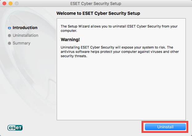 How to Uninstall ESET Cyber Security for Mac - osxuninstaller (12)