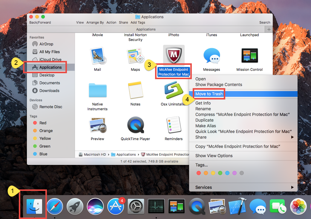 Proper Ways to Remove McAfee Endpoint Protection for Mac