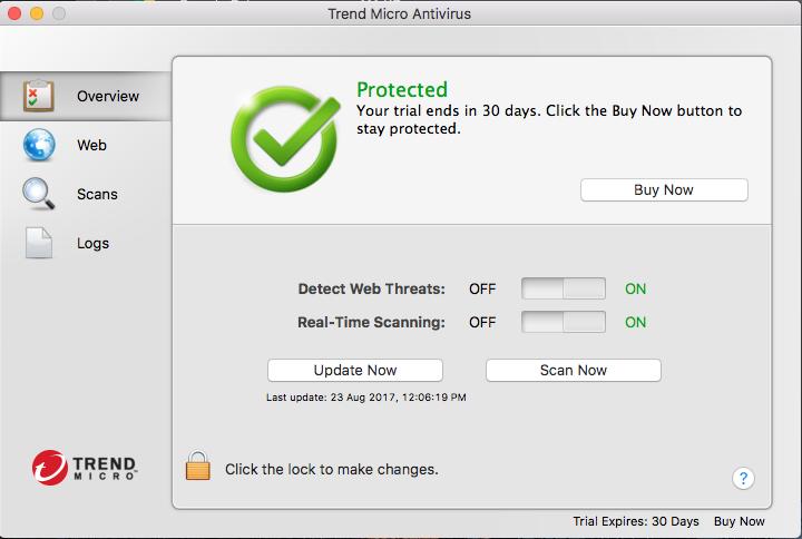 Uninstall Trend Micro Antivirus from macOS
