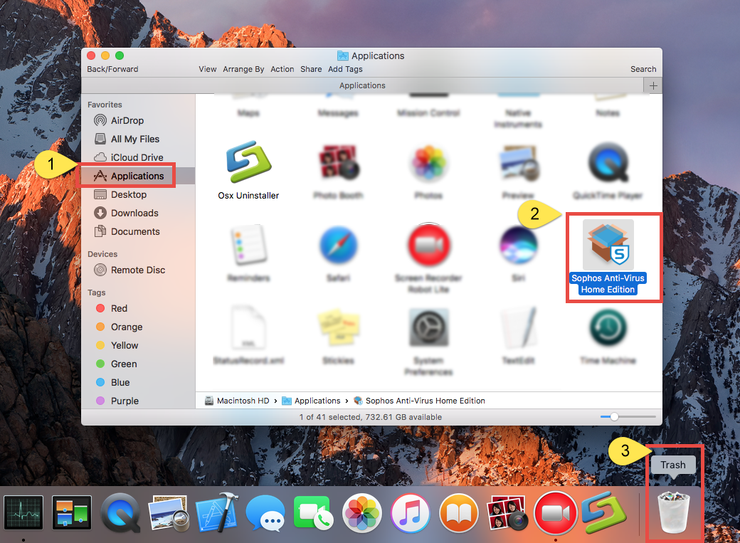 Quickly & Totally Uninstall Sophos Anti-Virus for Mac