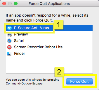 Impossible to Uninstall F-Secure Anti-Virus from Mac? Get Help Here!