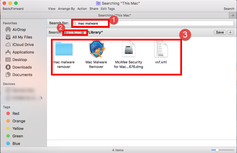 how to delete search bar suggestions mac