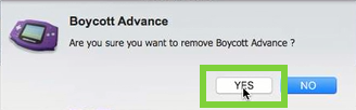 Specific Guides to Remove Boycott Advance from OS System
