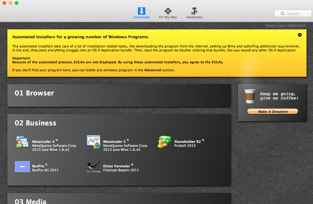How to Uninstall Wine & WineBottler for Mac (1)