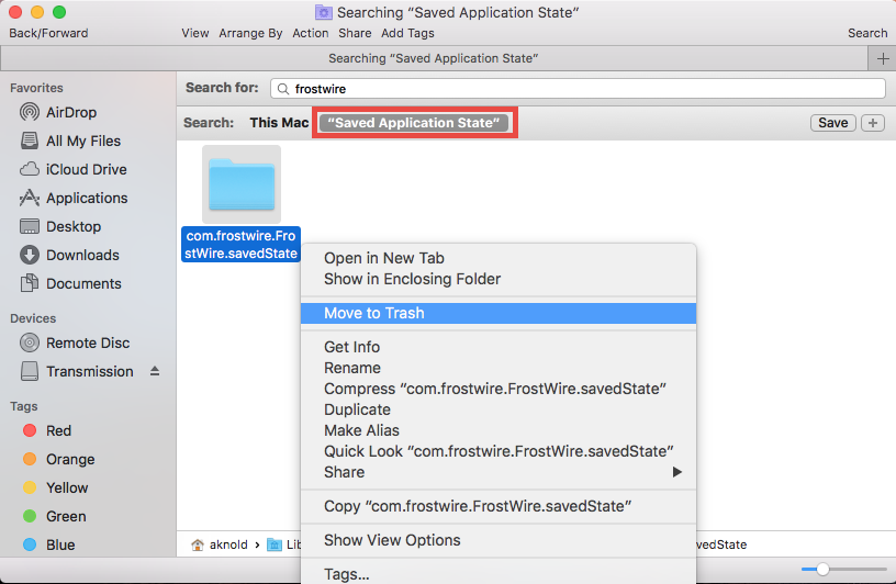 Uninstall FrostWire for Mac - osxuninstaller (8)