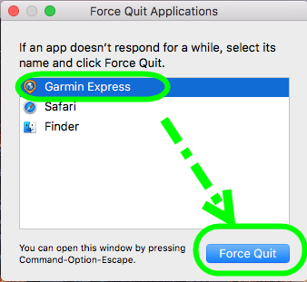 Completely Remove & Uninstall Garmin Express for Mac, Uninstall Mac