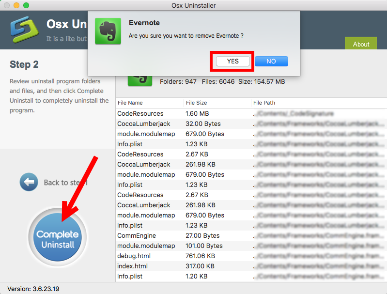 How to Uninstall Evernote for Mac (3)