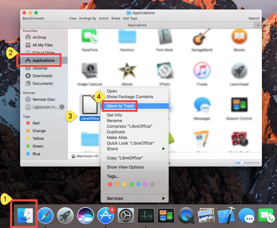 How Can I Thoroughly Uninstall LibreOffice on Mac