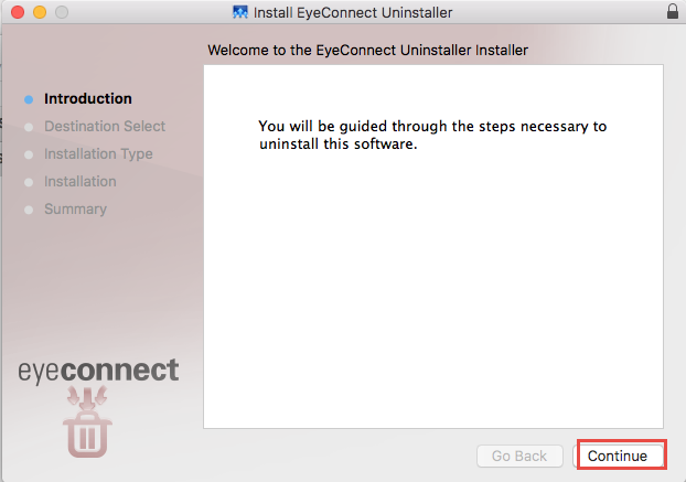 How to uninstall EyeConnect for Mac - osx uninstaller (3)