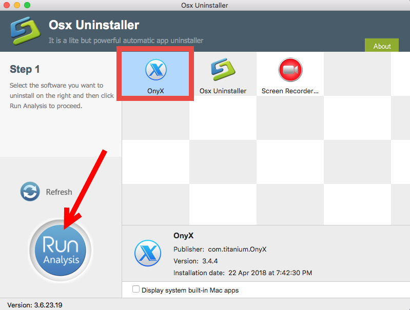 How to uninstall OnyX for Mac - Osx Uninstaller (1)