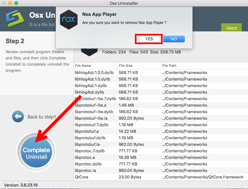 Quickly & Fully Uninstall Nox App Player for Mac