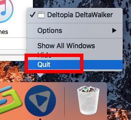quit 1