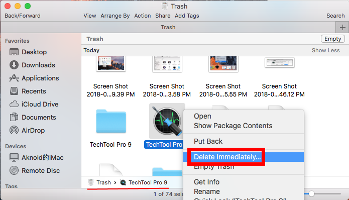 uninstall TechTool Pro for mac - osx uninstaller (9)