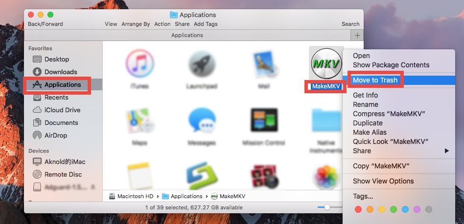 How to uninstall MakeMKV for Mac - osx uninstaller (5)