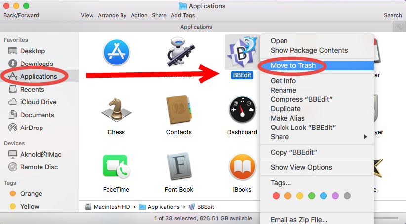 how to uninstall BBEdit on mac - osx uninstaller (11)