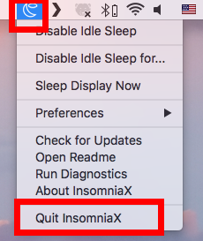 How to Uninstall InsomniaX 2.1.8