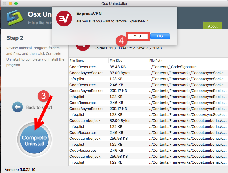 uninstall ExpressVPN for mac - osx uninstaller (15)