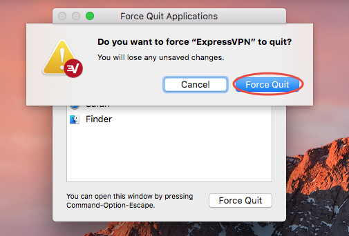 uninstall ExpressVPN for mac - osx uninstaller (6)