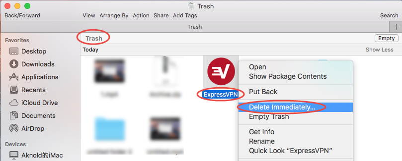 uninstall ExpressVPN for mac - osx uninstaller (9)
