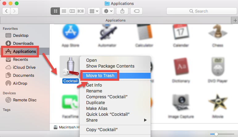 Follow Correct Steps to Uninstall Cocktail for Mac - osx uninstaller (5)