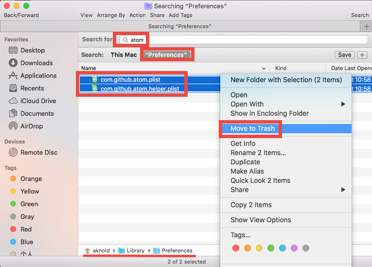 Uninstall Atom for Mac - Osx Uninstaller (10)