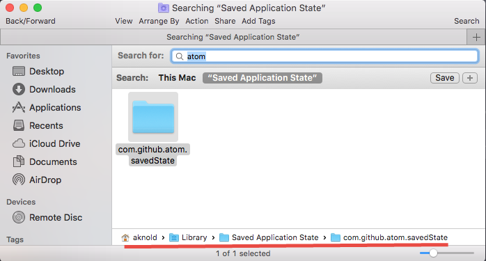 Uninstall Atom for Mac - Osx Uninstaller (12)