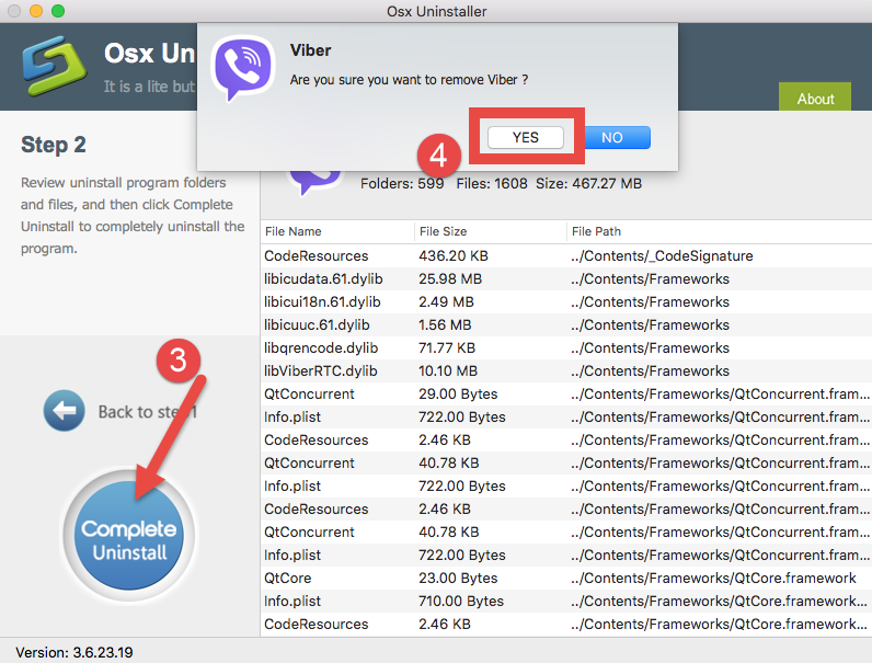 uninstall Viber for mac - osx uninstaller (10)
