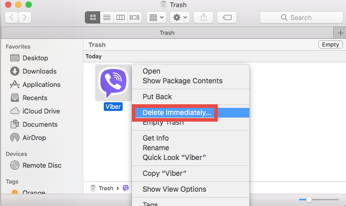 uninstall Viber for mac - osx uninstaller (6)
