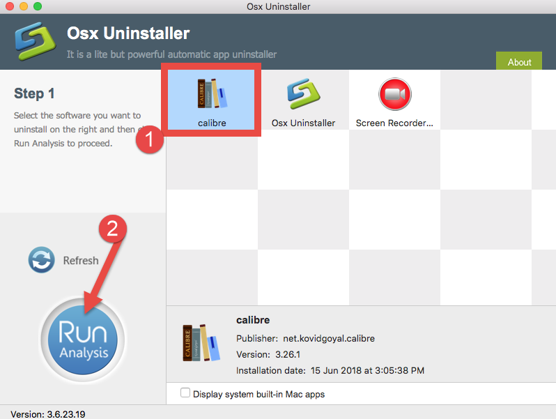uninstalll Calibre for Mac - osx uninstaller (13)